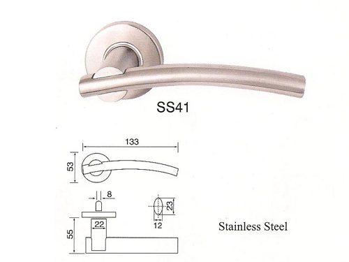 SS-41 Stainless Steel Lever Lockset