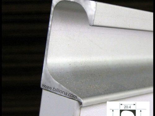 Aluminium Profile Handle #282 for cabinetry