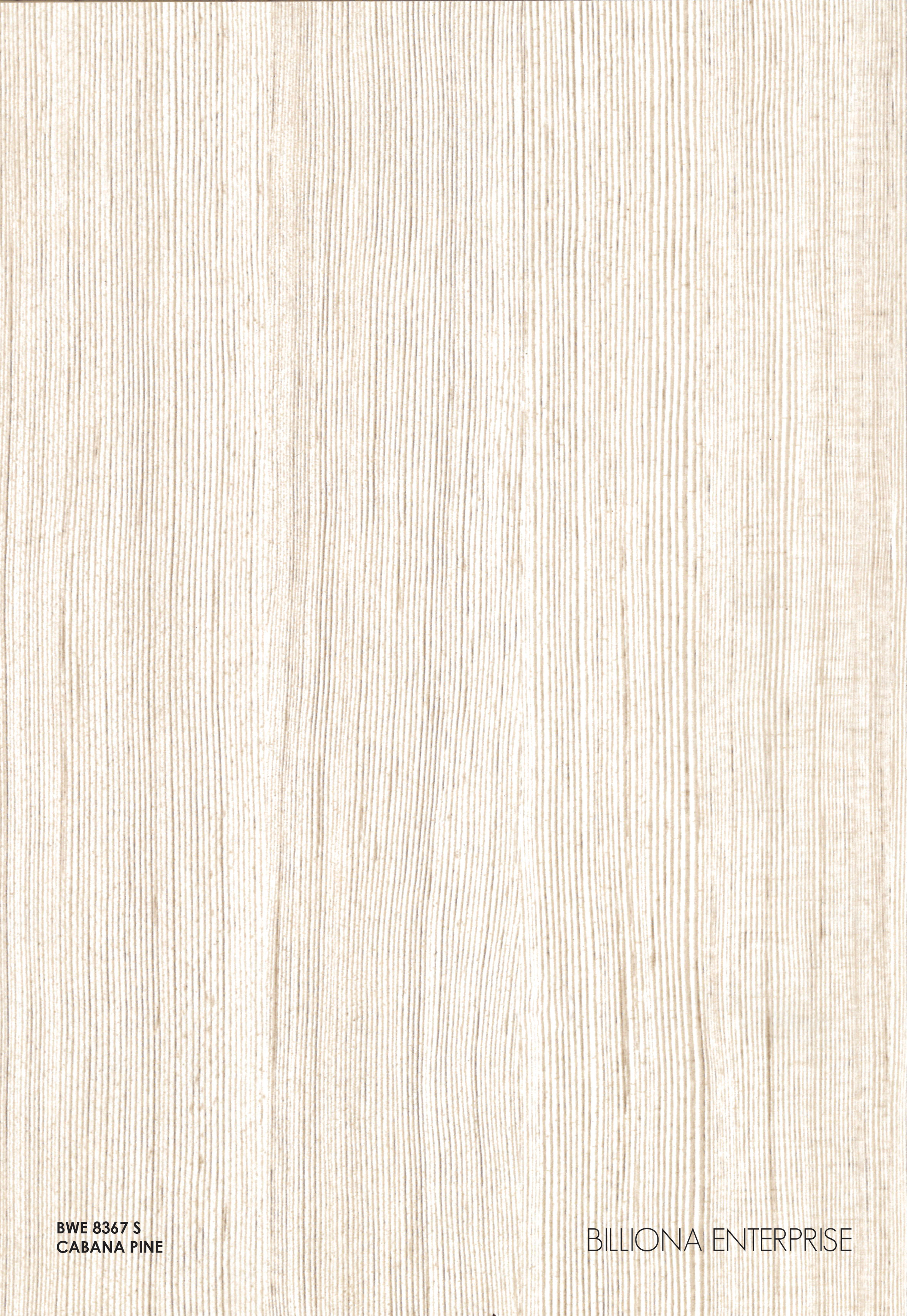 BWE 8367 S - Cabana Pine, High Pressure Laminate (HPL), Billiona Enterprise Singapore