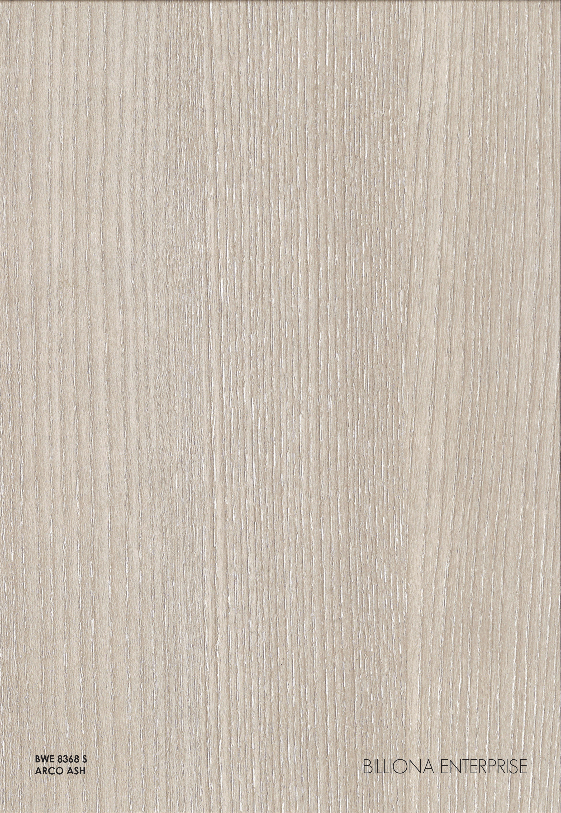 BWE 8368 S - Arco Ash, High Pressure Laminate (HPL), Billiona Enterprise Singapore