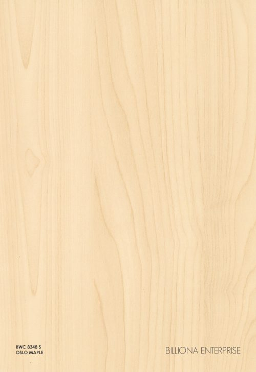 BWC 8348 S - Oslo Maple High Pressure Laminate (HPL), Billiona Enterprise Singapore