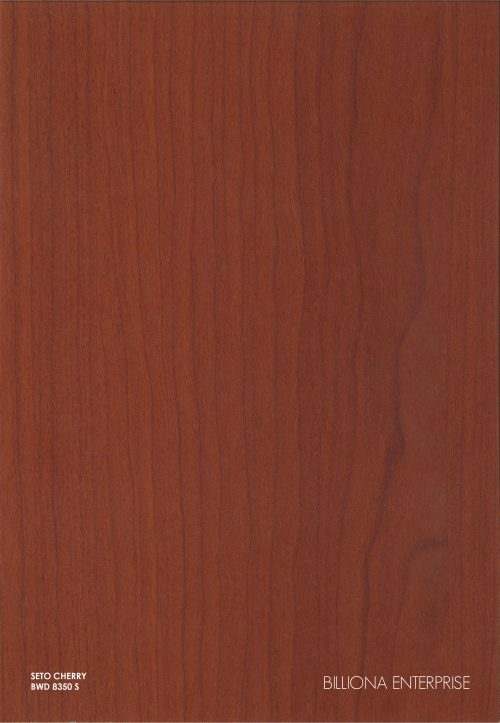 BWD 8350 S - Seto Cherry High Pressure Laminate (HPL), Billiona Enterprise Singapore