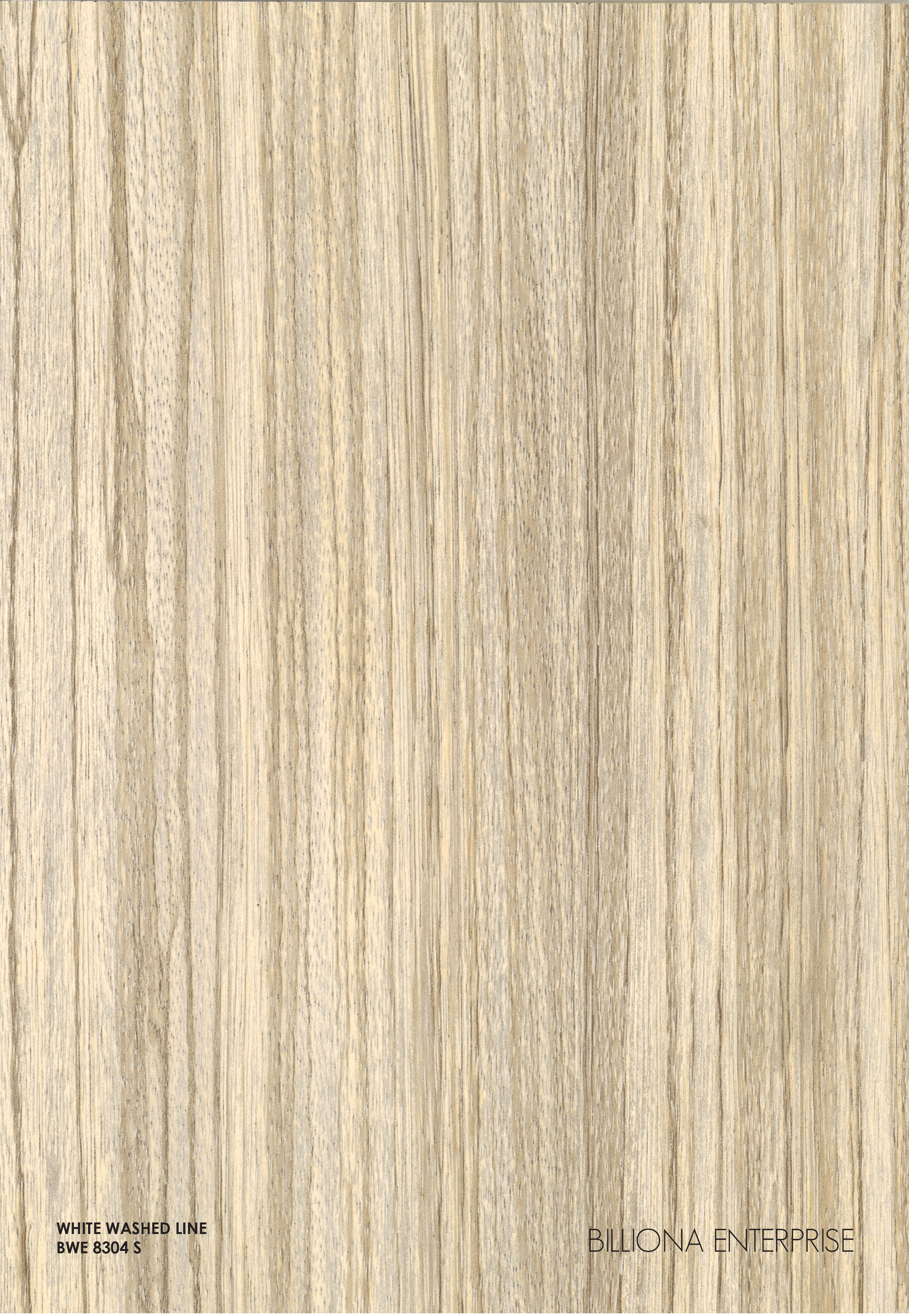 BWE 8304 S - White Washed Lime High Pressure Laminate (HPL), Billiona Enterprise Singapore
