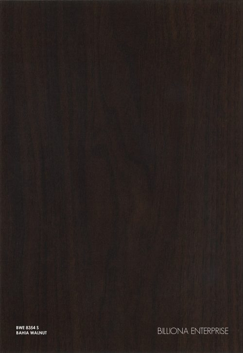 BWE 8354 S - Bahia Walnut High Pressure Laminate (HPL), Billiona Enterprise Singapore