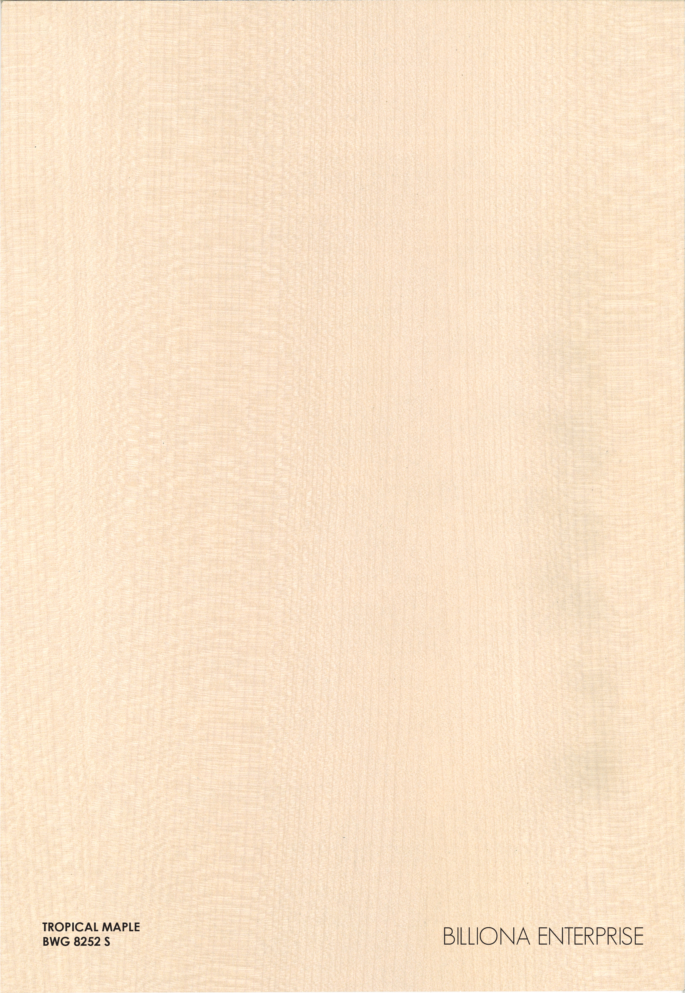 BWG 8252 S - Tropical Maple High Pressure Laminate (HPL), Billiona Enterprise Singapore