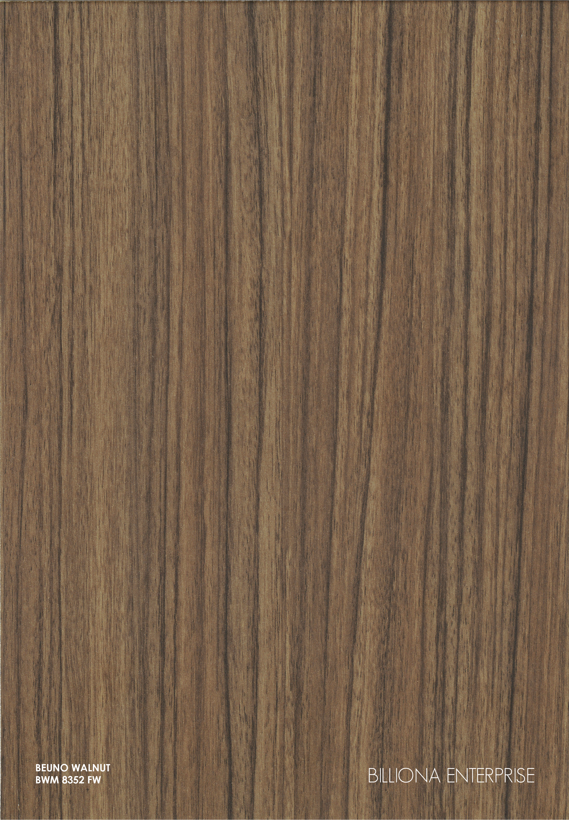 BWM 8352 FW - Beuno Walnut High Pressure Laminate (HPL), Billiona Enterprise Singapore
