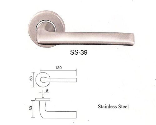 SS-39 Stainless Steel Lever Lockset