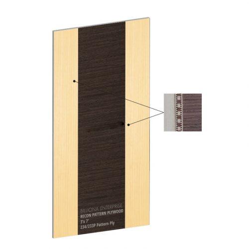 234/233 Pattern Veneer Plywood