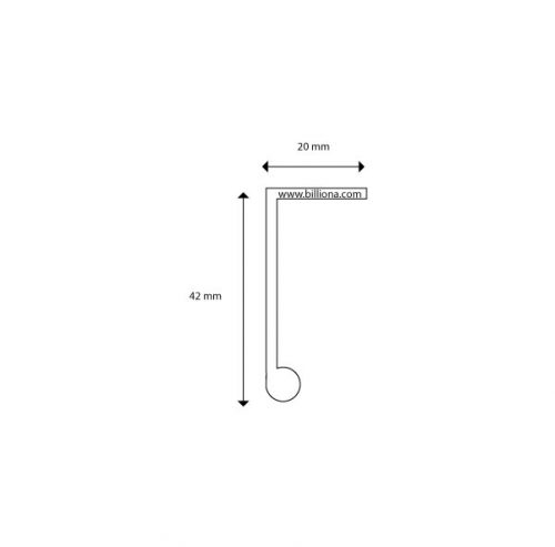 L-profile-handle-drawing