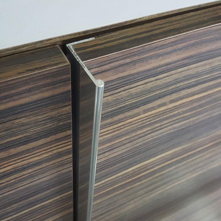 Aluminium 'L' Profile Handle #283