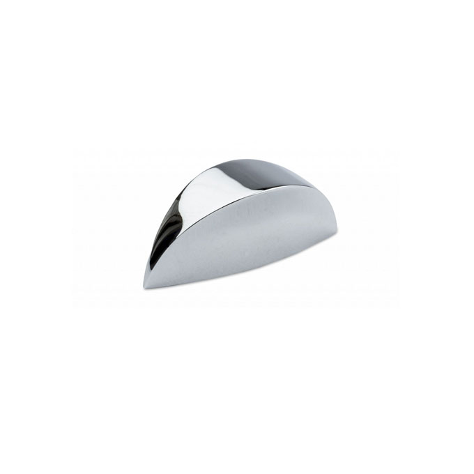 Semi Round Knob Handle Chrome